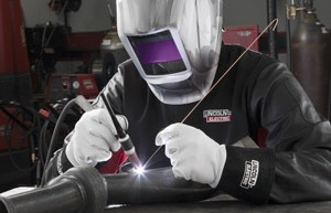 TIG Welding with Viking and Redline welding apparel